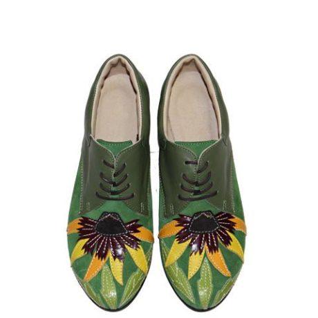ботинки с аппликацией