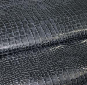 Темно-синий крокодил