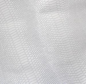 Змеиная кожа (белый)