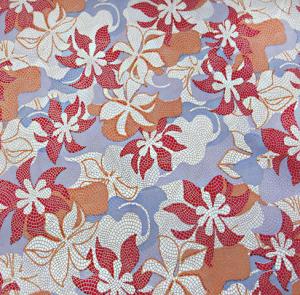 цветы в мозайке